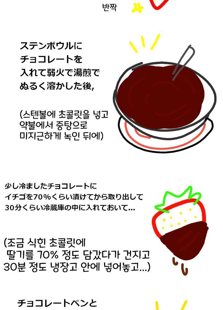 (약후?) 일본 유학생 여자친구가 발렌타인 쪼꼬렛 주는.manhwa No.1