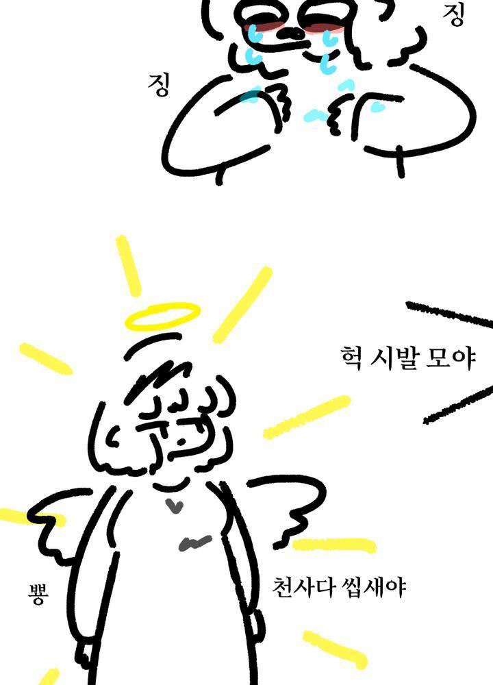(후타;;) 천사가 25살 동정한테 소원 들어주는.manhwa No.1