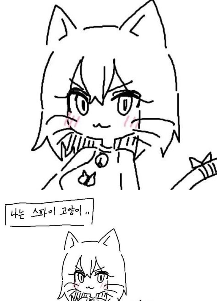 후방)고양이 미소녀 스파이쟝이 아이돌로 위장취업하는 만와  No.0