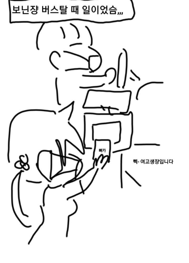 대한민국에서 유럽버스 탄 썰 만화 No.0