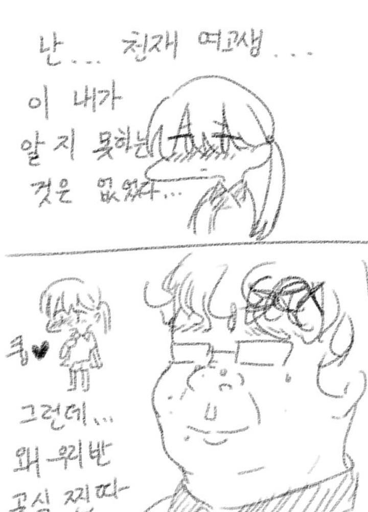 천재 미소녀 여고생이 오타쿠를 좋아하게 되어버렸어...!  No.0