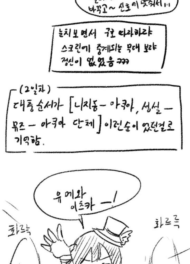 러브라이브 페스 뷰잉 후기만화 3 No.1