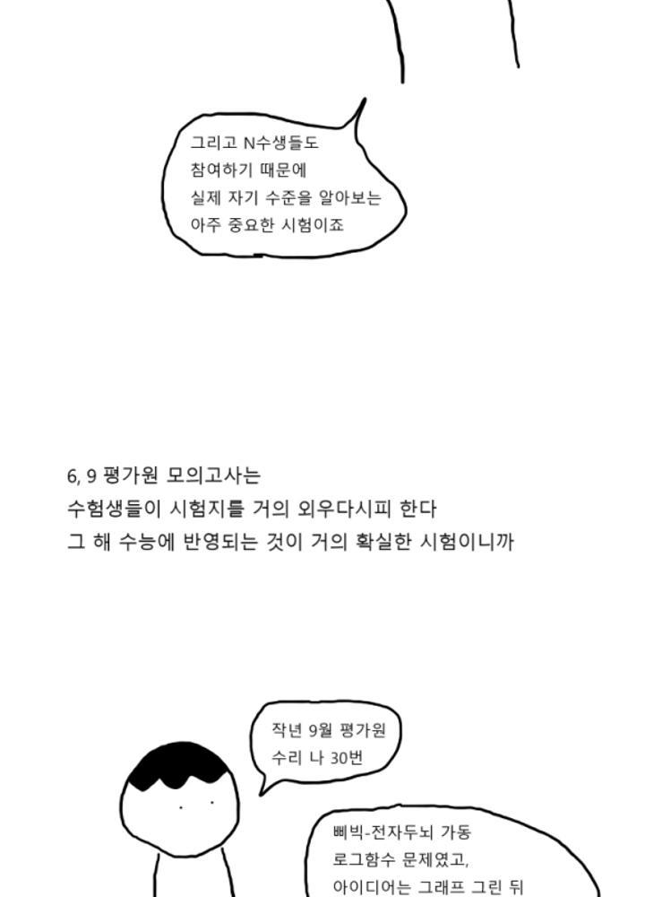노량진 만화 6 - 모의고사 잔혹사 No.1